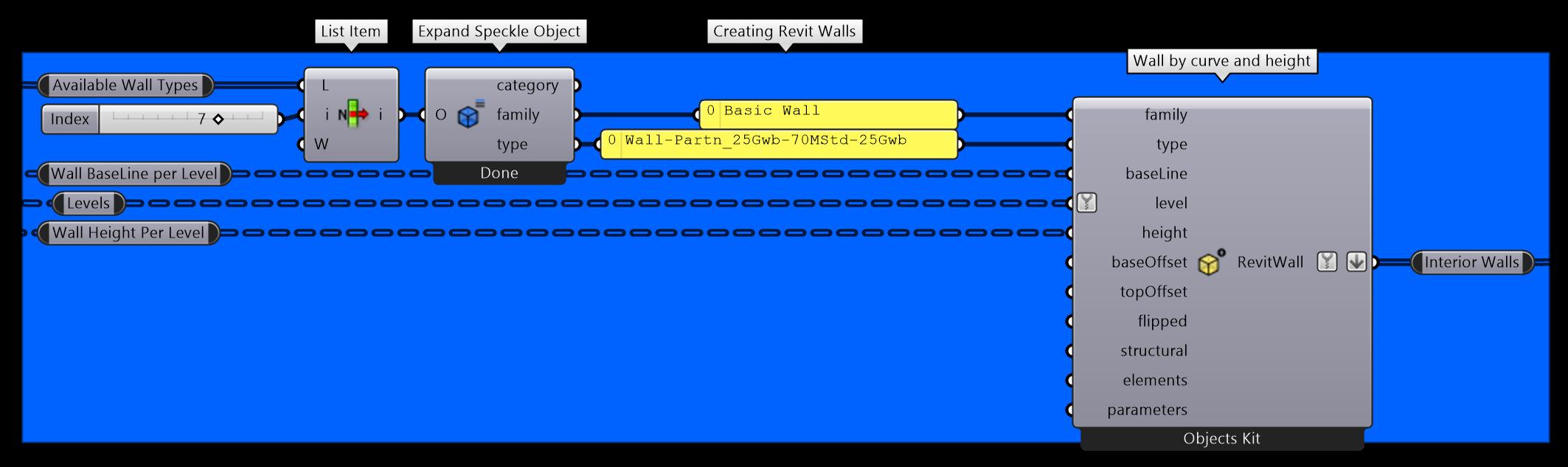 Create interior walls