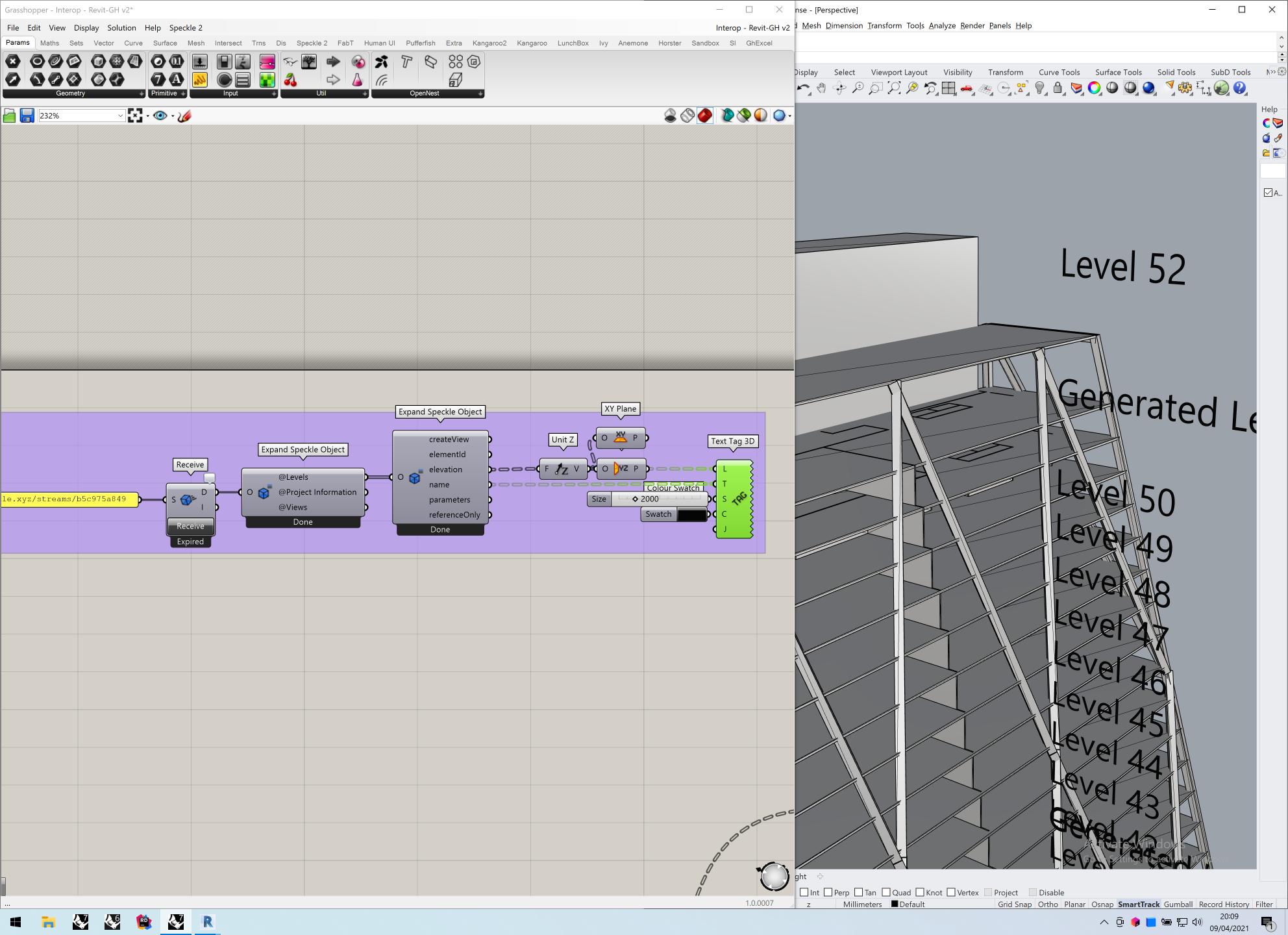 Generating level planes